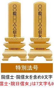 日蓮宗の特別法号(戒名)、男性女性